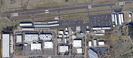 Auburn CA Airport - Aerial View