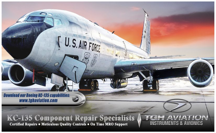 Capabilities on KC-135 Boeing Aircraft