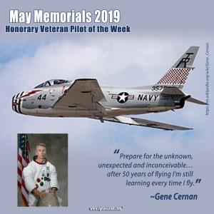 May Memorials - Gene Cernan