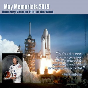 May Memorials - Neil Armstrong