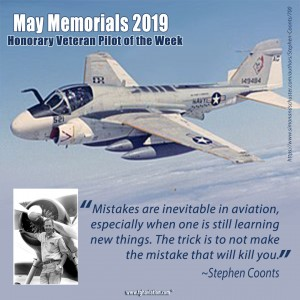 May Memorials - Stephen Coonts