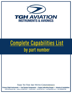 TGH Aviation Capabilities List Image