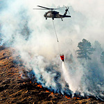 TGH Aviation Assists Firefighters Working to Defeat the Foresthill, CA Fire